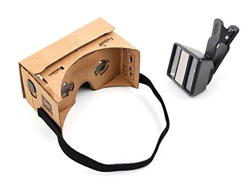 DURAGADGET Für Vodafone Smart Ultra 6: virtuelle VR-Brille und 3D-Objektiv Linse Stereoscopic zum...