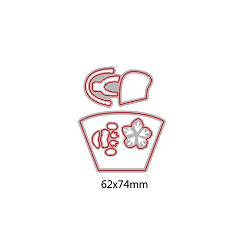Fogun - Fustelle a Forma di Borsetta, per Scrapbooking