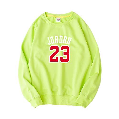 Bulls 23 Jordan Basketball Pullover Männer und Frauen Sport Shirt Jugend Student Sportjacke, Dünnschliff 9-XL