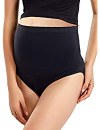 Gratlin Culotte Maternité Slips pour Grossesse Taille Haute sans Couture 9ad48fc99c3
