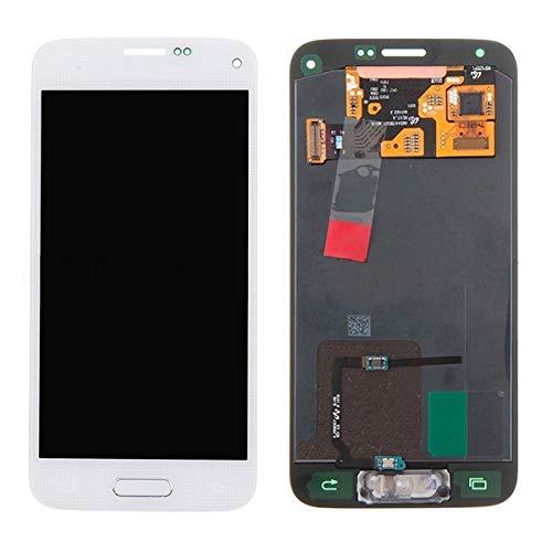 DELANSHI Handy-Ersatzteile IPartsBuy for Samsung Galaxy S5 Mini / G800 LCD + Touchscreen Digitizer Assembly Telefon Ersatzteile (Farbe : Weiß)