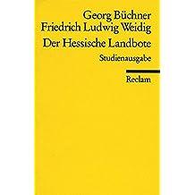 Der Hessische Landbote (Reclams Universal-Bibliothek)