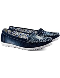 Tashi Women's Fabric Loafers