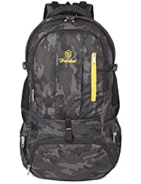 12c10abd15 Hotshot 60 L Black and Grey Air Bags for Men Waterproof Travel Backpack for  Outdoor Sport
