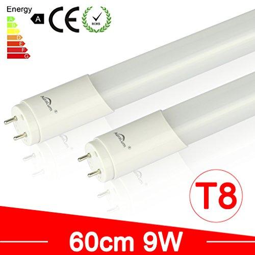 2 x AuraLum® T8 9W 60cm 48