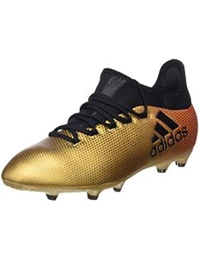 Adidas X 17.1 FG J, Botas de Fútbol Unisex Niños