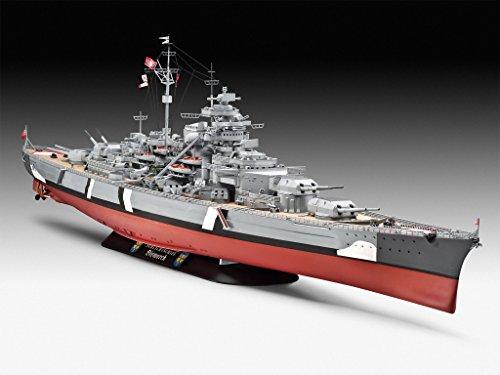 Revell 05040 – Battleship Bismarck - 16
