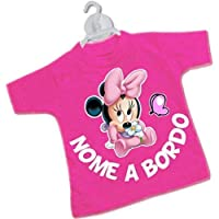 STICKEREDO Mini t-shirt magliettina bimbo bimba auto nomi bordo bebè baby on board