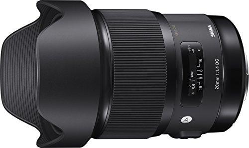 Sigma Obiettivo 20 mm-F/1.4 AF DG HSM ART, Attacco Nikon, Nero