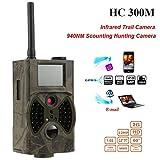 STAGO Wildlife Game Trail Camera Kit HC300M 12MP 1080P HD Infrared Game&Trail Camera