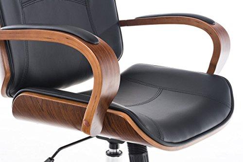 Clp sedia ufficio dayton sedia scrivania in legno e similpelle