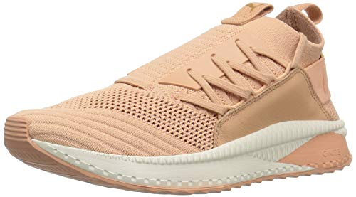 d54d661f7 Puma Women's Tsugi Jun Sneaker, Dusty Coral-Pomegranate-Whisper White, 6.5  UK
