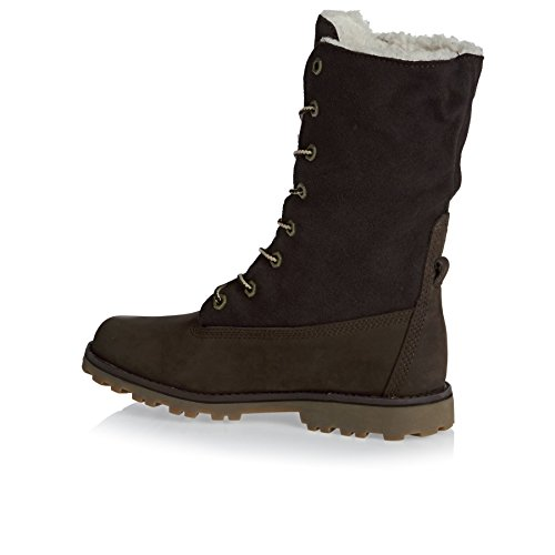Timberland Unisex-Kinder 6 in Wp Shearling Bo Rollkragen Schuhe Brown
