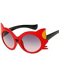 Amazon.fr   Rouge - Lunettes de soleil   Accessoires   Vêtements 908802a18ba4