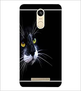 PrintDhaba Cat D-1314 Back Case Cover for XIAOMI REDMI NOTE 3 (MEDIATEK) (Multi-Coloured)