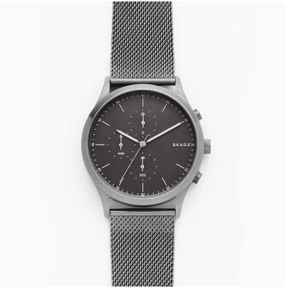 Skagen Jorn Black Mesh Bracelet Watch SKW6476 Best Price and Cheapest