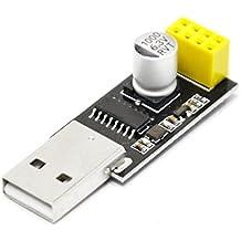 WINGONEER USB a ESP8266 Módulo Wifi inalámbrico en serie Desarrollador de placa 8266 Adaptador Wifi
