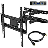 """Everstone TV Wall Bracket Mount for 26""""-60"""" LED,LCD,OLED& Plasma Flat &Curved Screens, Dual"""