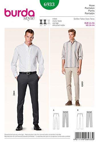 Burda B6933 Patron de Couture Pantalon 19 x 13 cm