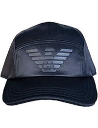 Emporio Armani - Casquette de Baseball - Homme Noir Noir 684fd945942