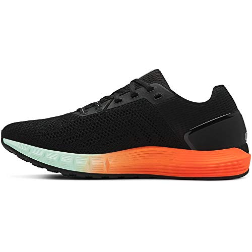 Under Armour UA HOVR Sonic 2, Scarpe Running Uomo, Nero (Black/Orange Glitch/Jet Gray 001), 40 EU