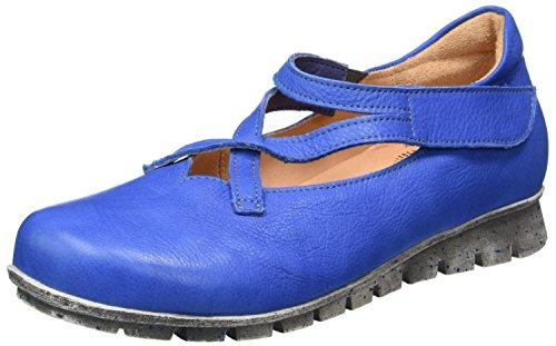 Think! Damen Menscha Geschlossene Ballerinas Blau (JEANS/KOMBI 84)