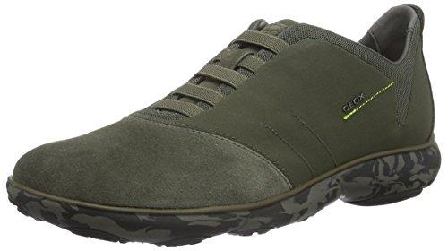 geox-u-nebula-f-scarpe-da-ginnastica-basse-uomo-grun-militaryc3009-42-eu