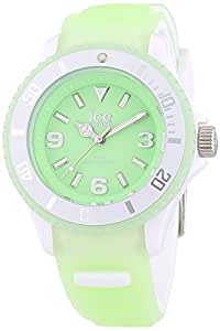 Ice-Watch Unisex-Armbanduhr Ice-Glow Analog Quarz Silikon GL.GN.S.S.14