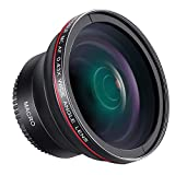 Neewer Obiettivo Grandangolare con Lente Macro Close-up 52mm...