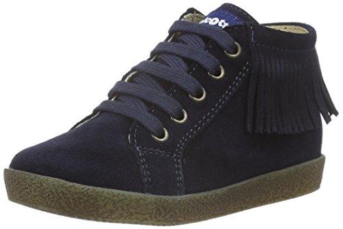 Naturino Falcotto 4175, Chaussures Marche Bébé Fille Bleu - Blau (Blau_9101)