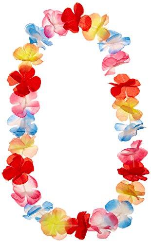 Hawaiian Lei Garland, Silk Flowers for Male Costume