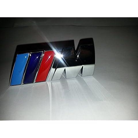 BMW M Power anteriore griglia di metallo 3d Badge in