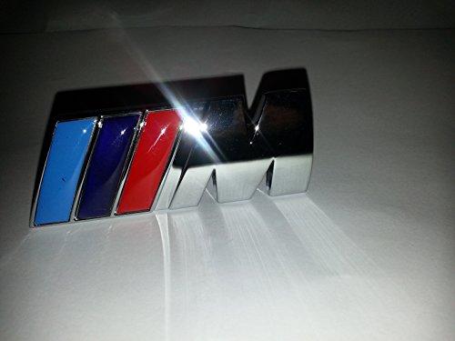 Preisvergleich Produktbild BMW M Power Front 3D Metall Grill Badge in Geschenkbox (schwarz)