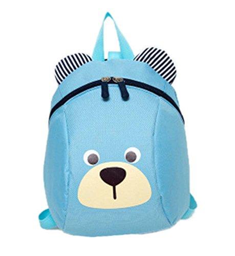 Baby Kleinkind Sicherheitsgurt Rucksack - Kids Strap Schulter Rucksack Tasche mit Zügel Leine Rucksack Wanderer Tether Gürtel (Mit Rädern Kid Rucksack)