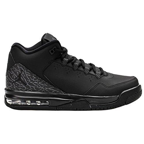 Nike Jungen Jordan Flight Origin 2 BG Turnschuhe, Schwarz/Grau (Schwarz/Schwarz-Dunkelgrau), 38 1/2 EU Air Jordan Flight Gs
