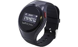Watchu Guardian - Telefono e Orologio Smart GPS progettato per persone vulnerabili