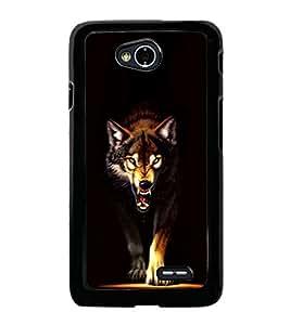 Fox 2D Hard Polycarbonate Designer Back Case Cover for LG L70