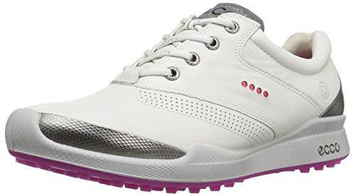 ECCO Damen Womens Biom Golf HYBRID Golfschuhe, Weiß (57676WHITE/CANDY), 41 EU - Hybrid Golf Ecco Biom