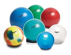 TOGU Gymnastikball My-Ball 45 cm Marina-Blautransparent