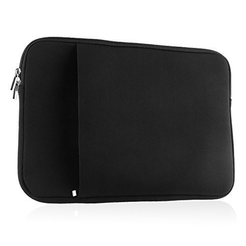 ROSENICE Funda para Ordenadores Portátiles para Macbook Pro 13 (negro)