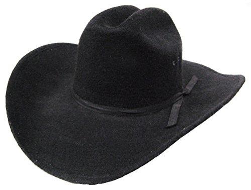 modestone-unisex-akubra-cattleman-faux-felt-cappello-cowboy-l