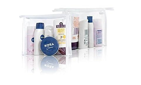 Nivea Ladies Mini HOLIDAY SKIN & HAIR TRAVEL Gift Set - DEO SHOWER SHAMPOO COND CRÈME