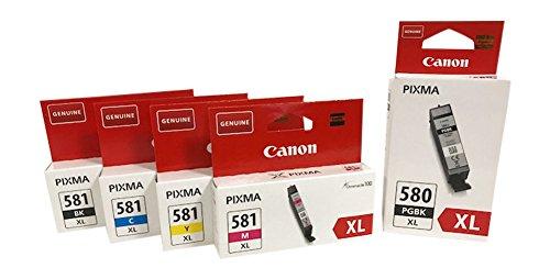 Druckerpatronen für Canon Pixma TR7550,TR8550, TS6150, TS6151, TS8150, TS8151, TS8152, TS9150, TS9155 (XL bk/pbk/c/y/m)