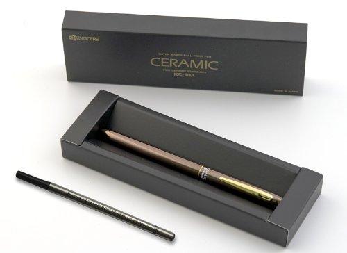 41XcnoweeCL - NO.1 BEAUTY# Kyocera Ceramic Pen Cera Slim Liner KC10-A Colour Bronce + Refill Black Reviews Best Buy