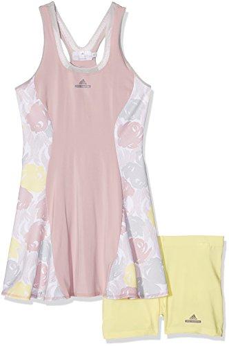 adidas Damen Kleid Dress RG, Gelb/Grau, 34, 4056559350260 Preisvergleich