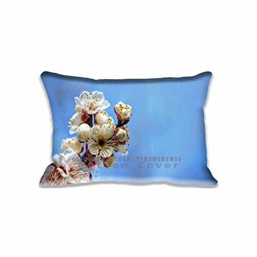custom-design-red-tinted-plum-blossoms-pillow-cases-zippered-standard-queen-size-seasons-pillowcase-