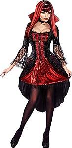 WIDMANN 07632Adultos Disfraz de vampiresa, M