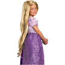 SODIAL(R) Custom Rapunzel Styled rubio peluca cosplay (Nino)