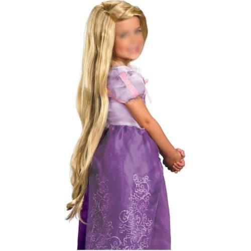 Gleader Rapunzel Benutzerdefinierter Stil Blonde Peruecke (Kind)