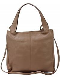 e240175d010a1 Bozana Bag Nina Rose Powder Italy Designer Damen Handtasche Ledertasche  Tasche Wildleder Prägung…